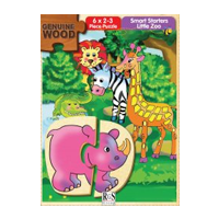 Smart Starters Wooden Puzzle - Little Zoo