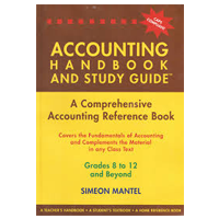 accounting handbook and study guide grade 8 to 12