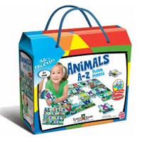 Ryan's Room Animals A-Z Floor Puzzle