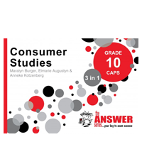 answer series consumer studies grade 10