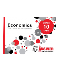 The Answer Series - Economics Grade 10 CAPS 3 in 1