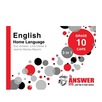 The Answer Series - English Home Language Grade 10 CAPS 3 in 1
