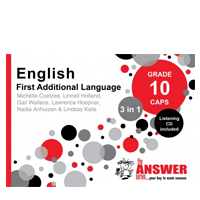 answer series english FAL Grade 10