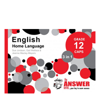 The Answer Series - English Home Language Grade 12 CAPS 3 in 1