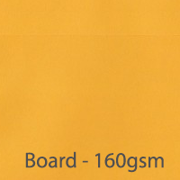 bright board golden yellow