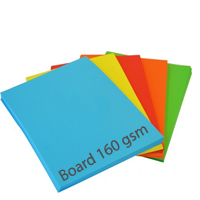 Standard Bright Board - Mixed Pack - 160gsm - 100 Sheets