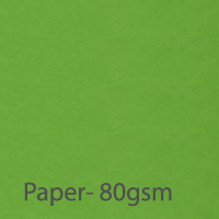 bright paper parrot green