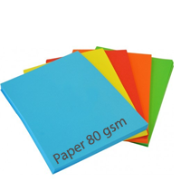 Standard Bright Paper - Mixed Pack - 80gsm - 100 Sheets