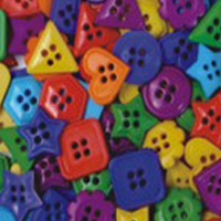 buttons bright shapes