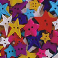 buttons bright stars