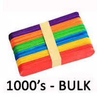coloured ice cream sticks bulk