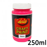 craft paint neon 250ml