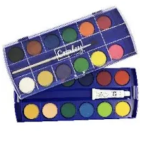Watercolour set 24's
