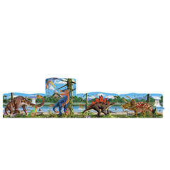 Linking Floor Puzzle - Dinosaurs - 96pc