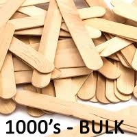 ice cream sticks natural 100s