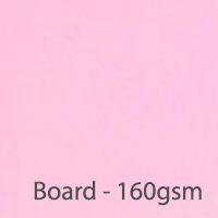 pastel board cherry pink