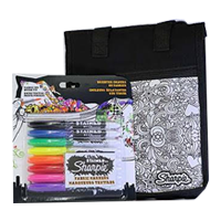 Sharpie Fabric Markers - Set 8 - with FREE Lunchbag