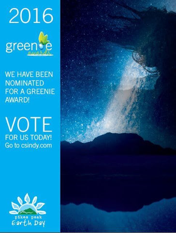 Vote for the Greenie award poster