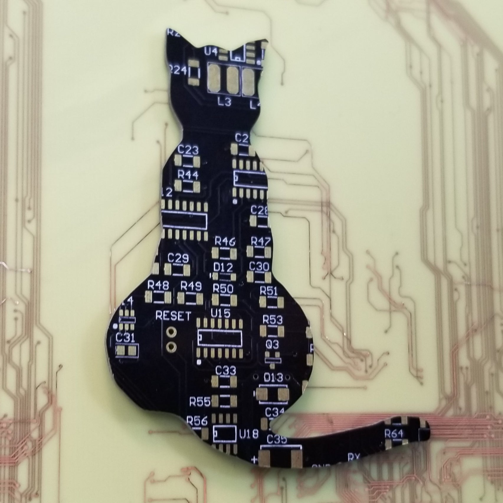 Circuit Board Cat - TechWears Ltd