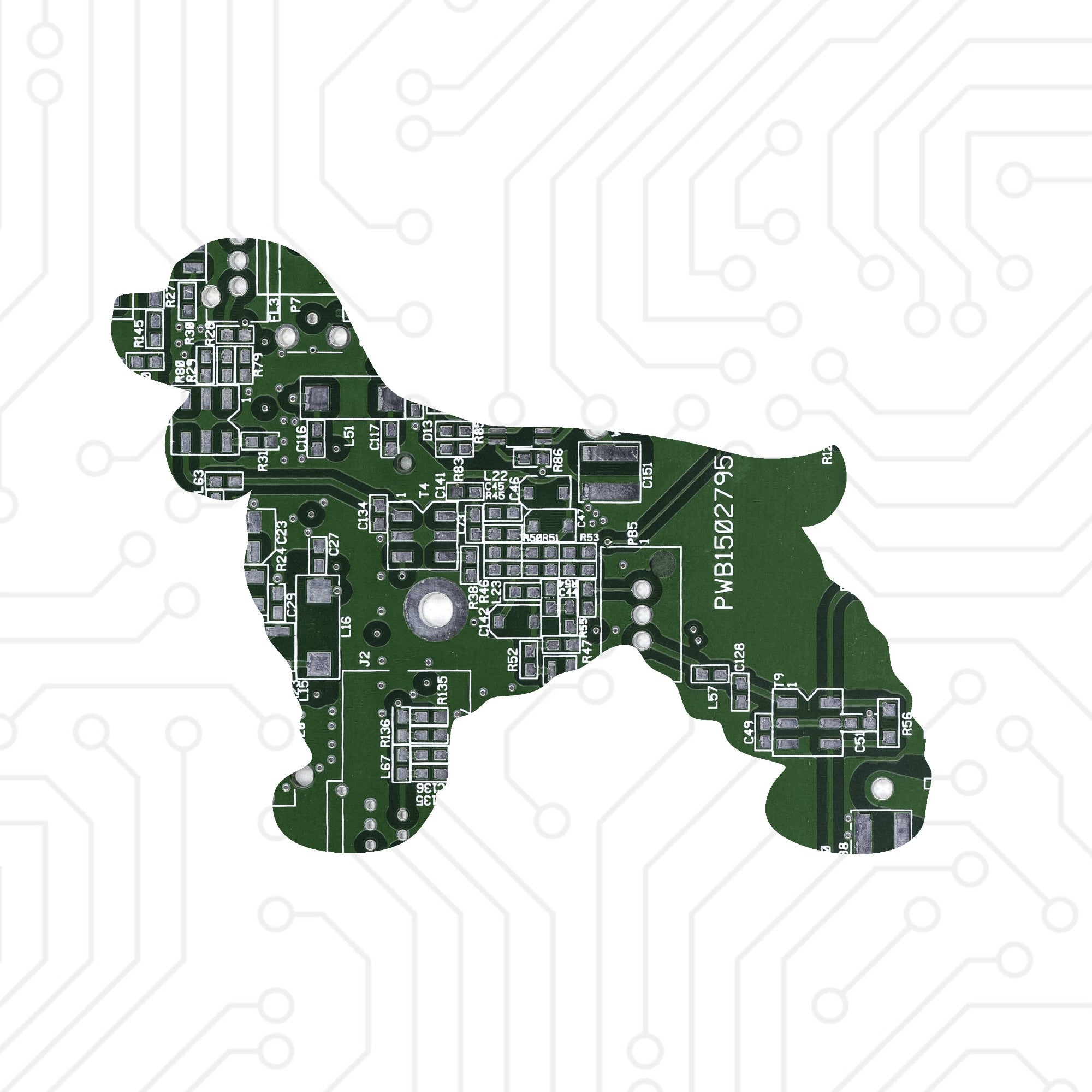 Circuit Board Spaniel - TechWears Ltd