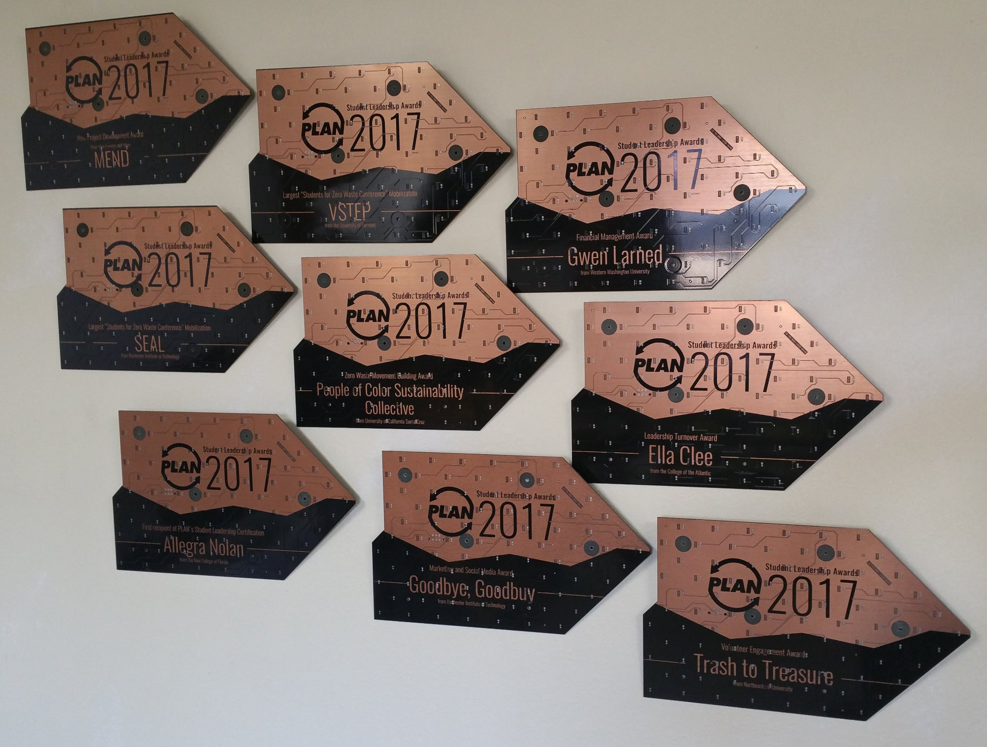 Circuit Board Circuit Board Award Plaques |Laser~Engraved| - TechWears Ltd