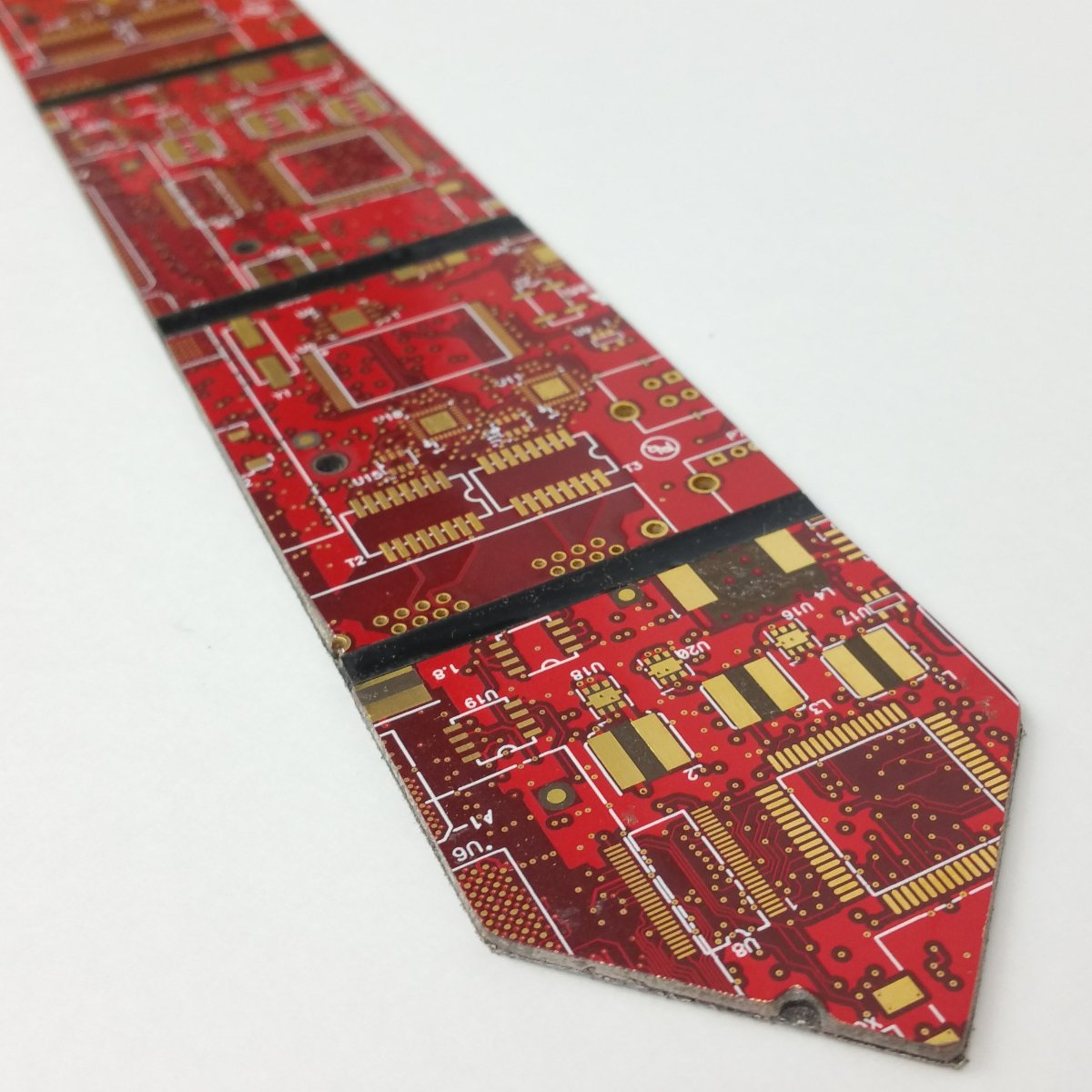 Circuit Board Red Circuit Board Power Tie - TechWears Ltd
