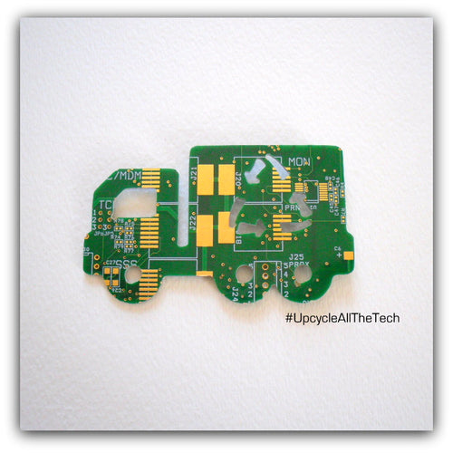 Circuit Board Box Truck Magnet - REAL Circuit Board - 100% Recycled - by TechWears