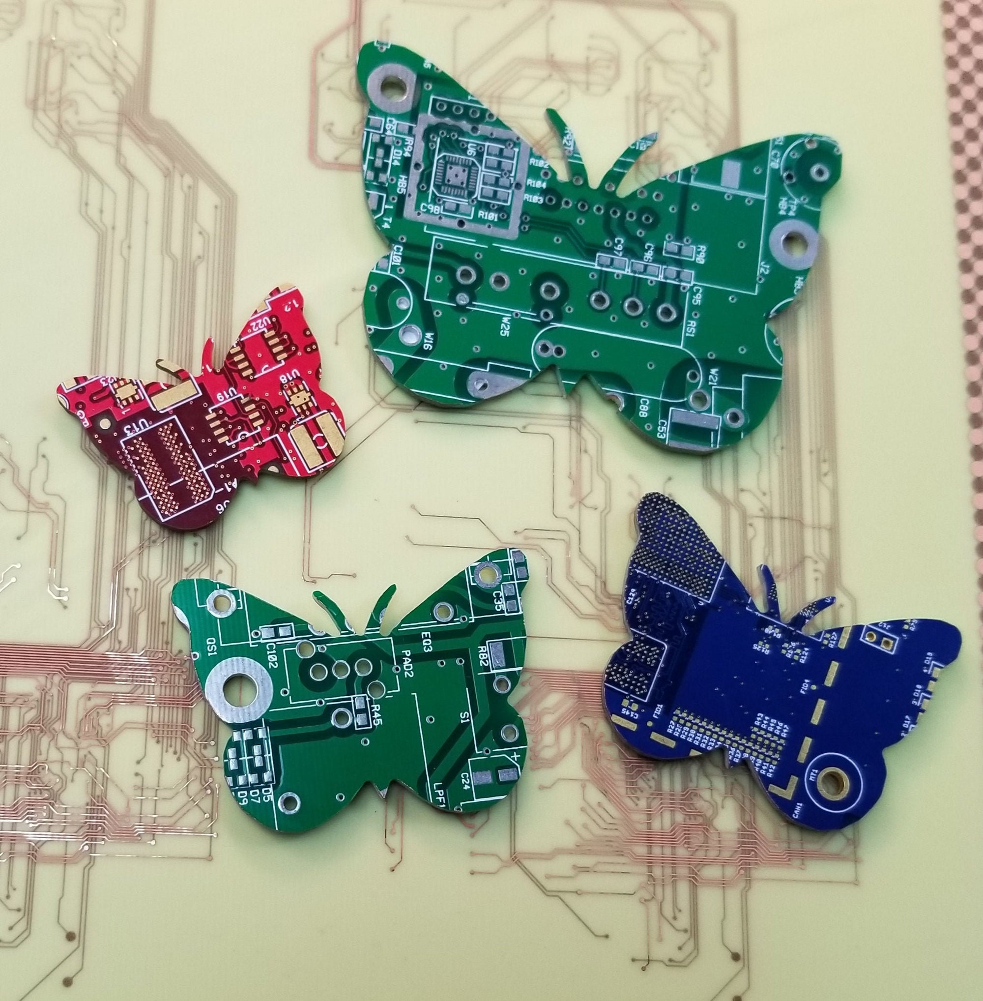 Circuit Board Butterfly - TechWears Ltd