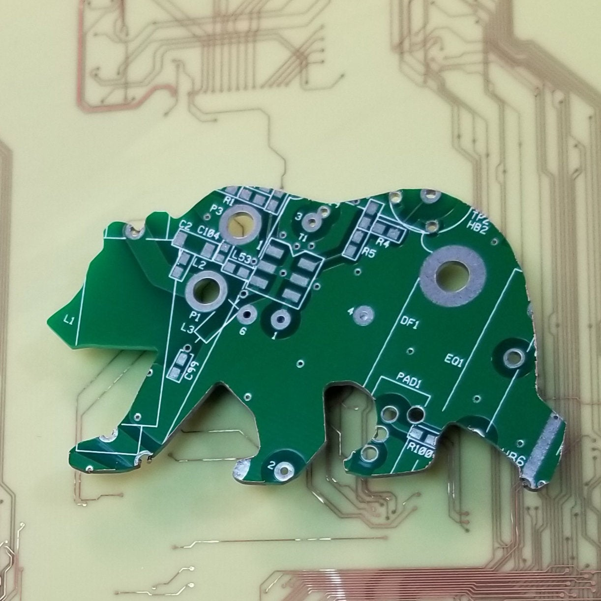 Circuit Board Bear - TechWears Ltd