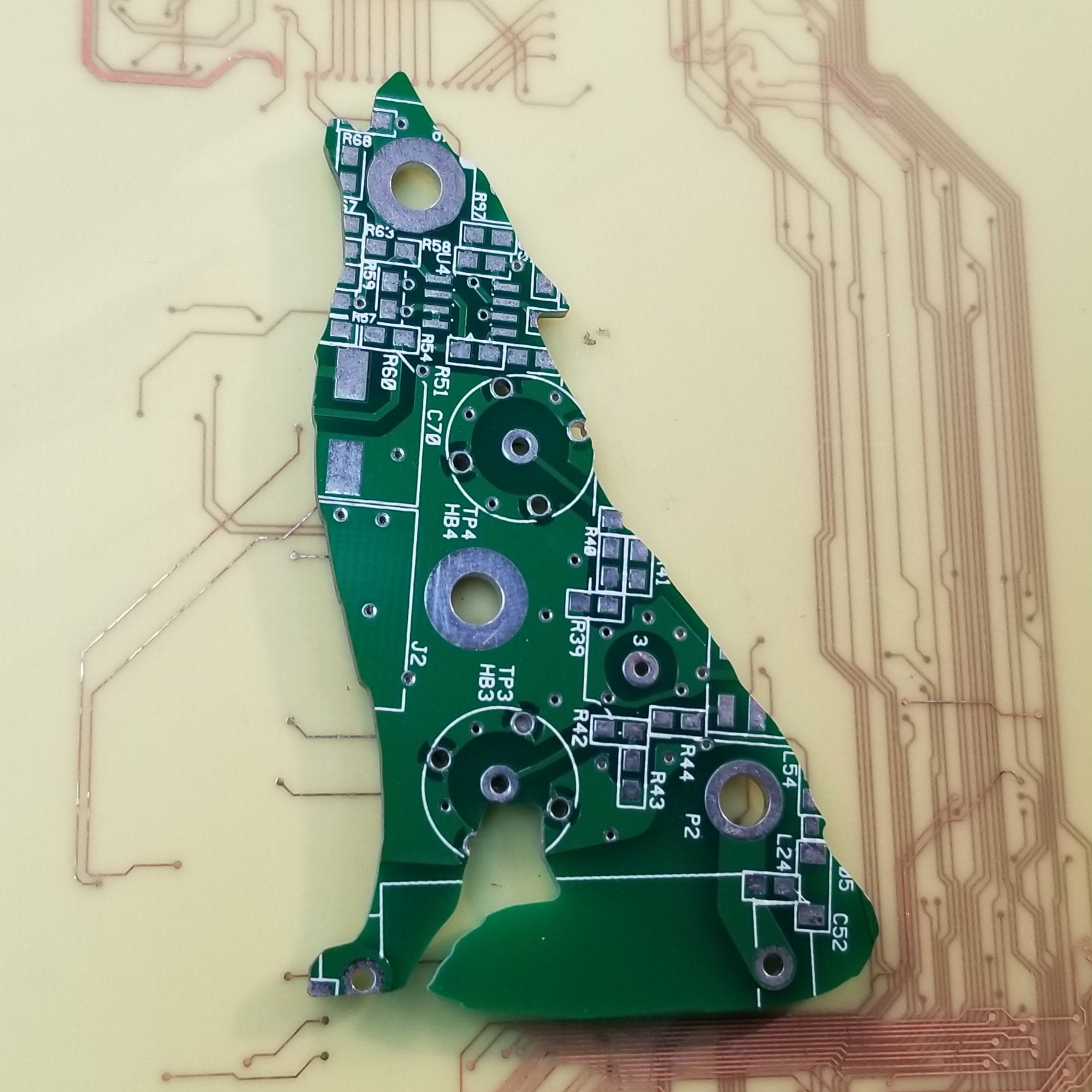 Circuit Board Wolf - TechWears Ltd