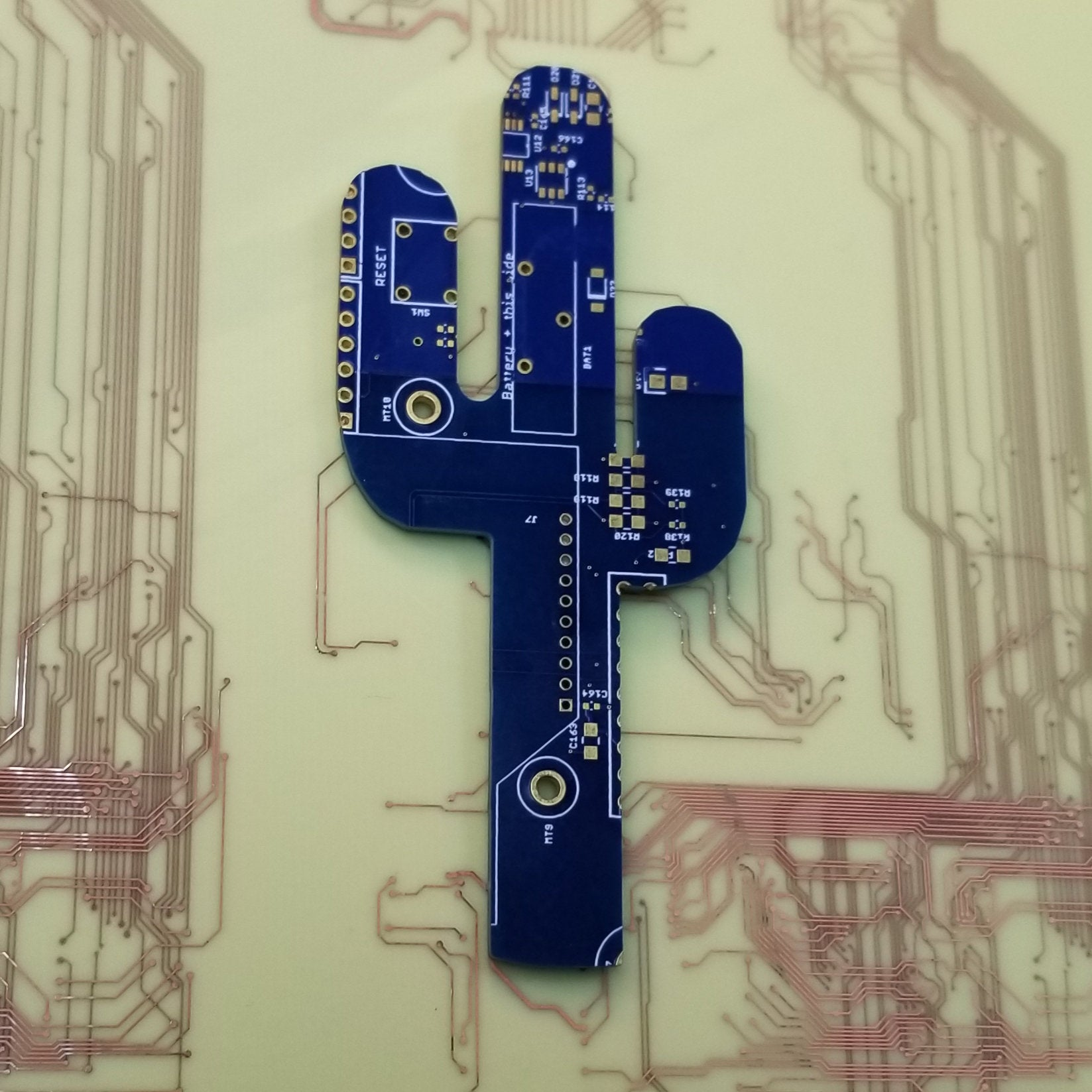 Circuit Board Cactus - TechWears Ltd