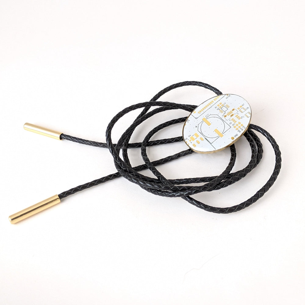 Circuit Board Bolo Ties Available in Multiple Colors