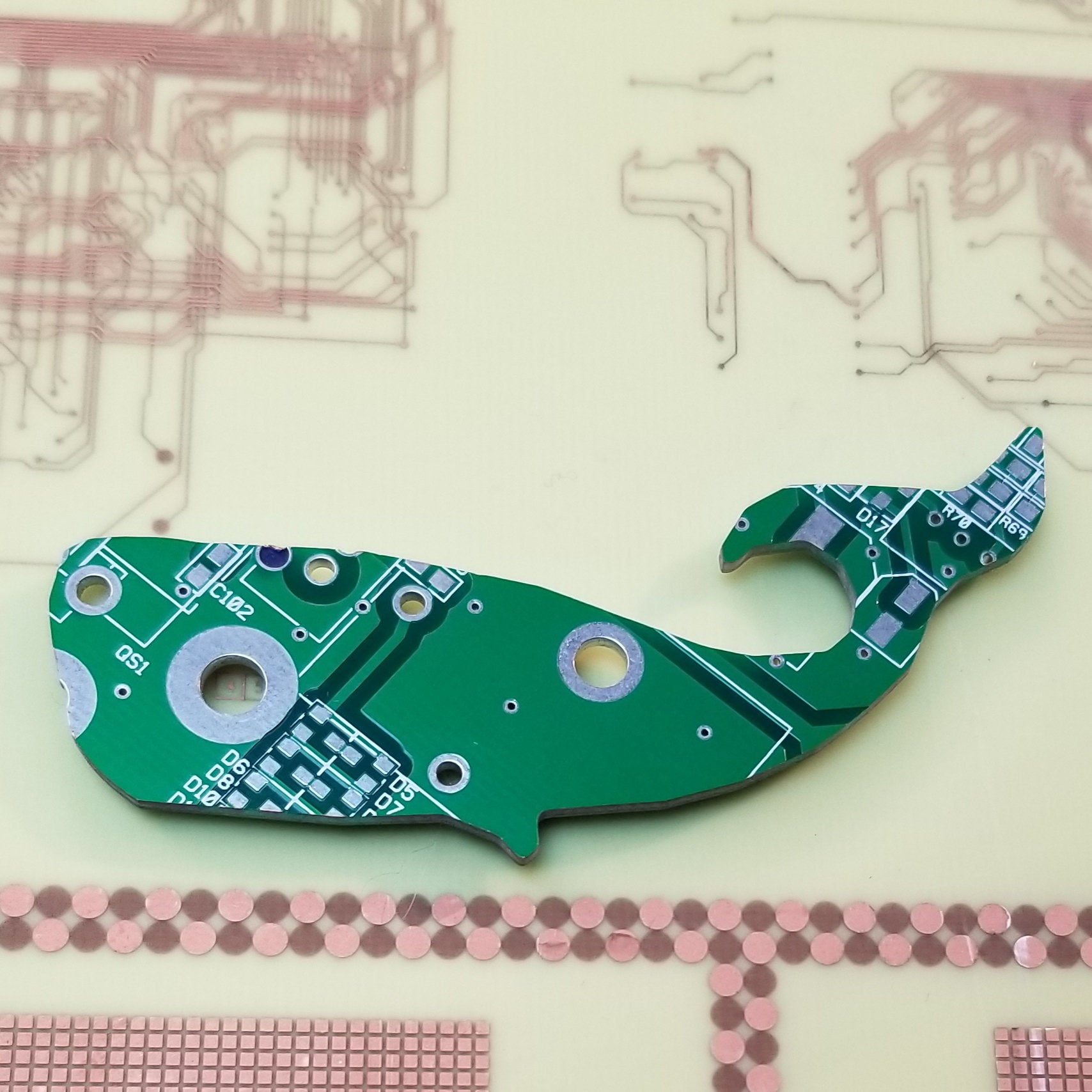 Circuit Board Whale - TechWears Ltd