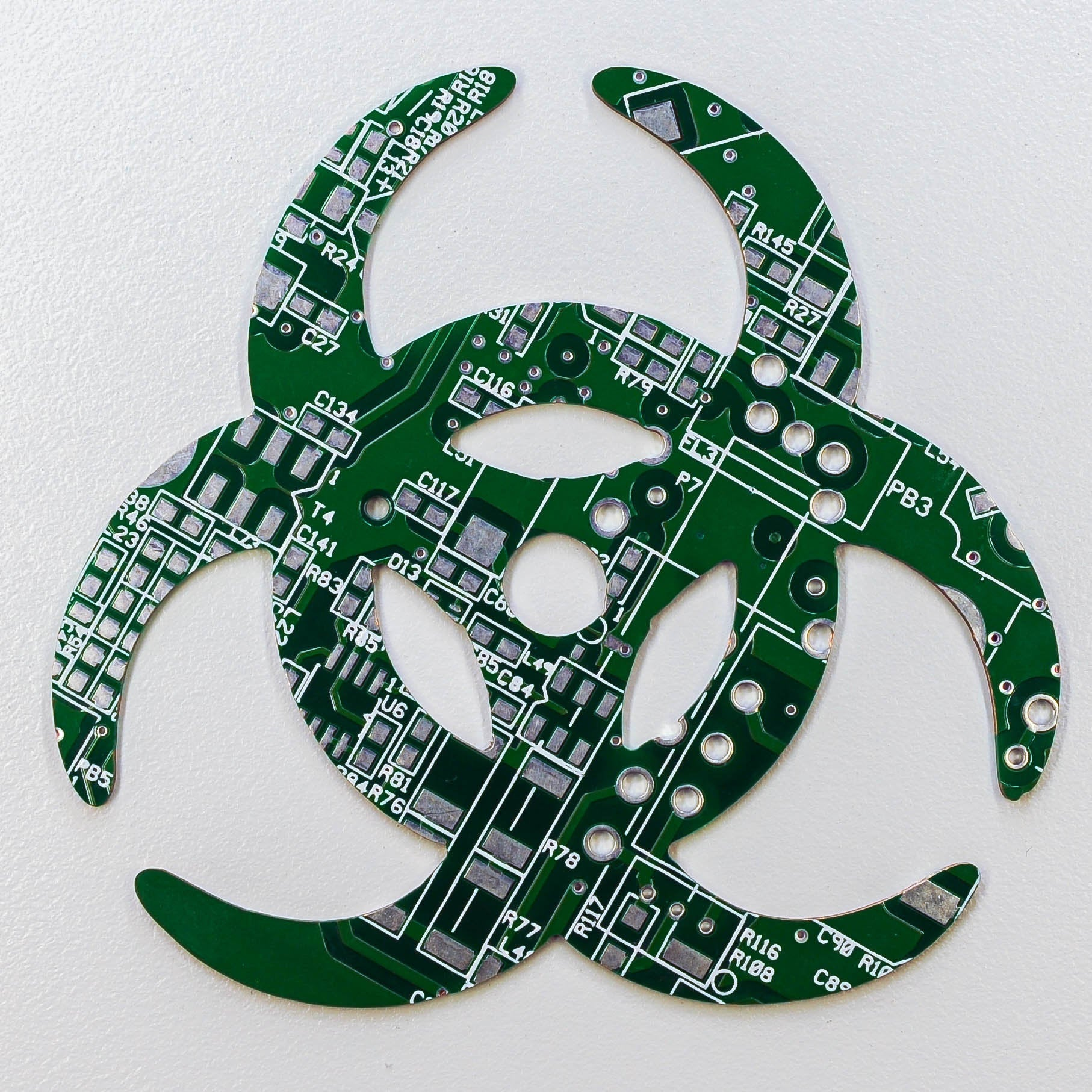 Circuit Board Bio Hazard - TechWears Ltd
