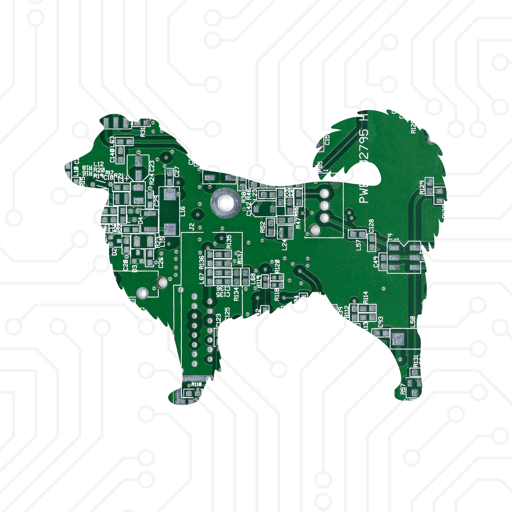 Circuit Board Australian Shepherd - TechWears Ltd