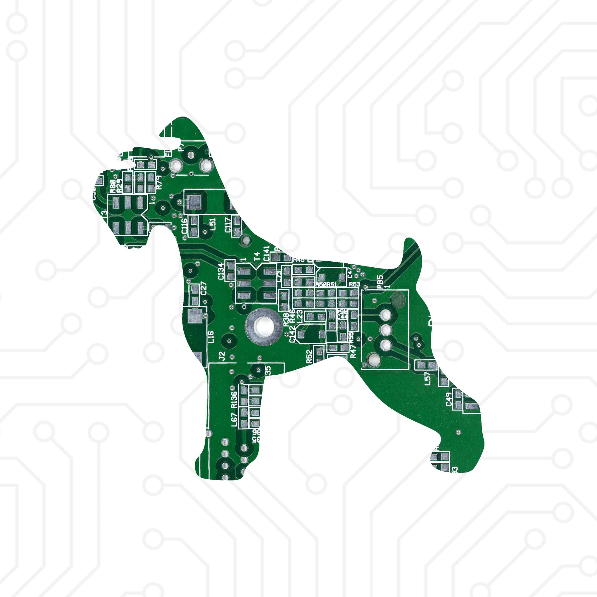 Circuit Board Schnauzer - TechWears Ltd