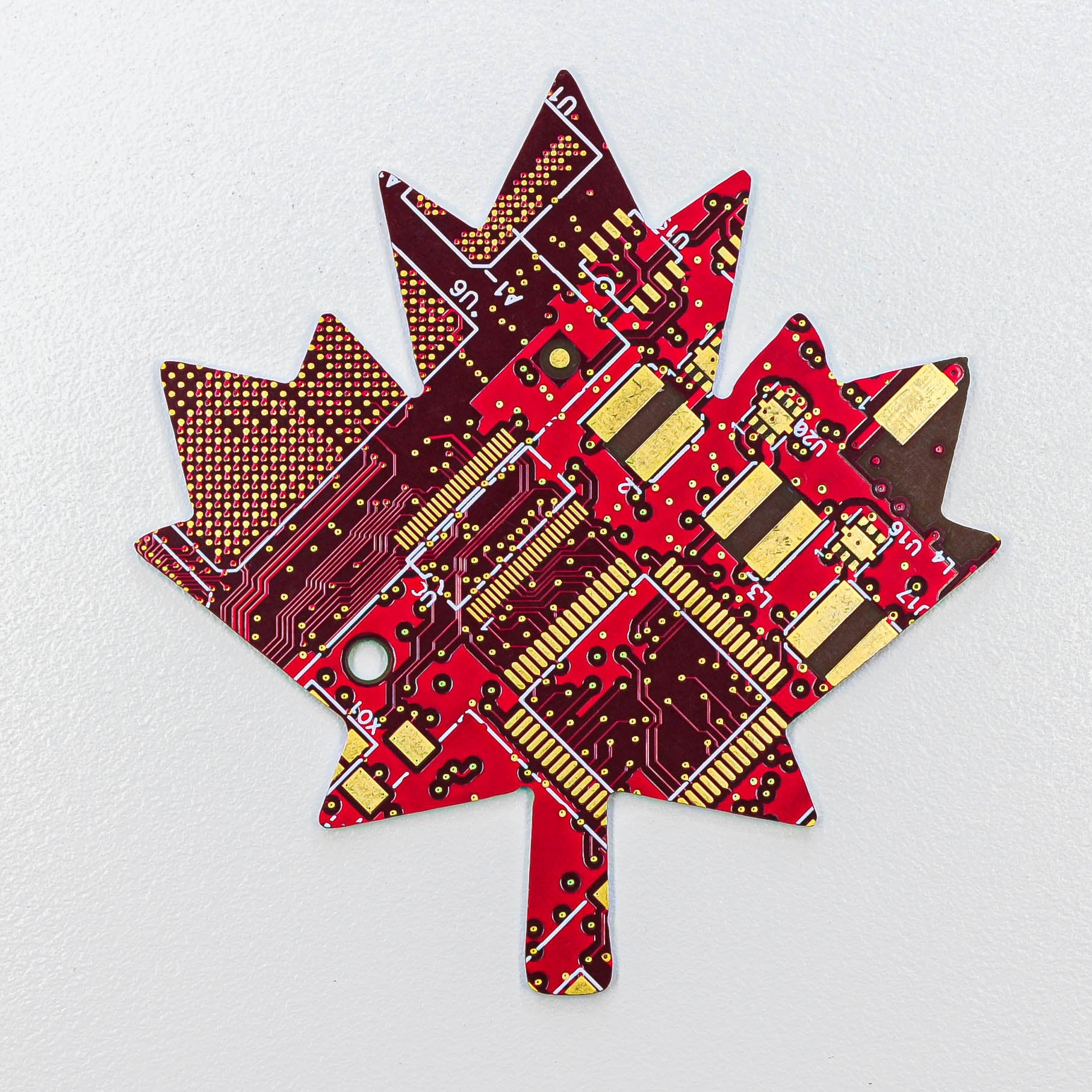 Circuit Board Maple Leaf - TechWears Ltd