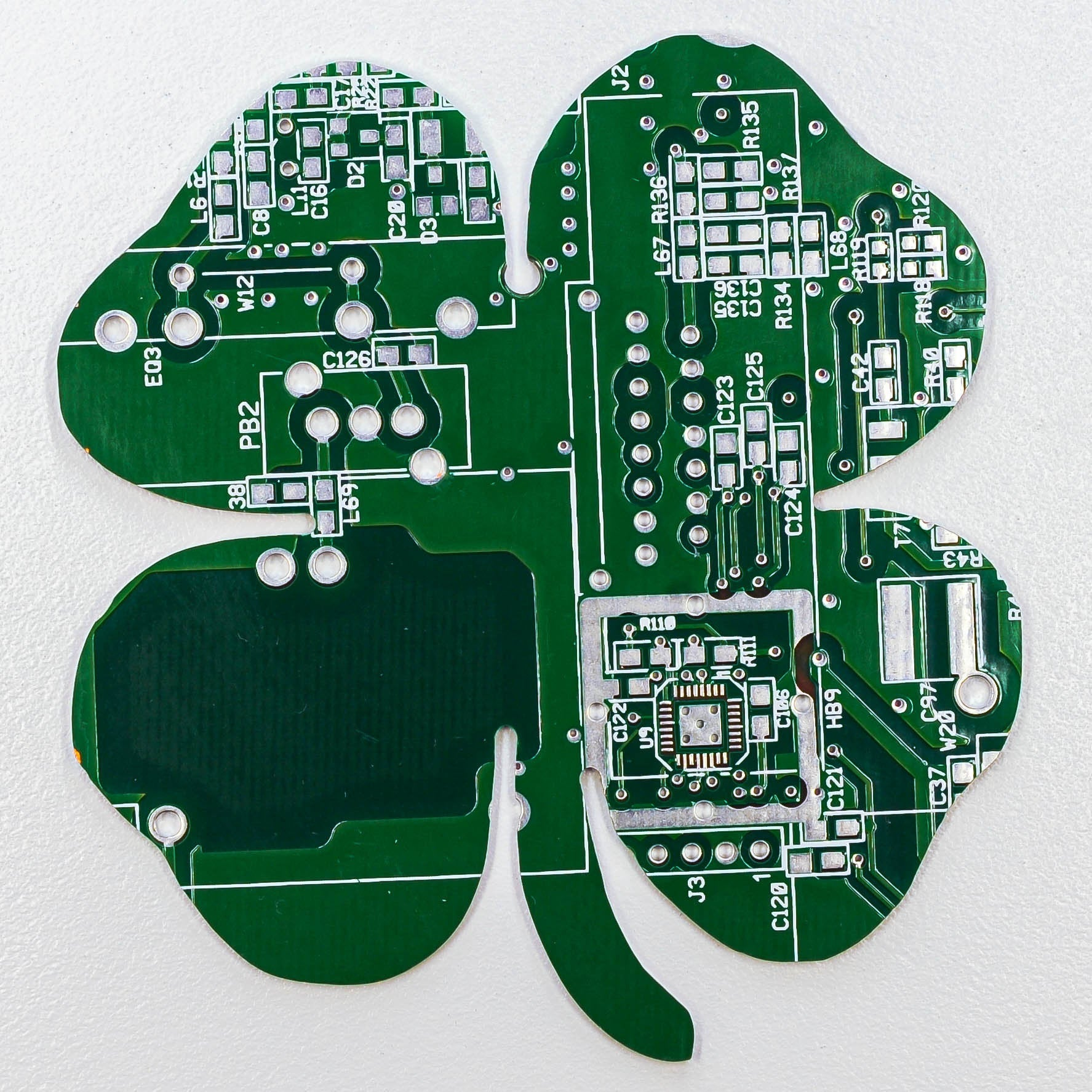 Circuit Board Four Leaf Clover - TechWears Ltd