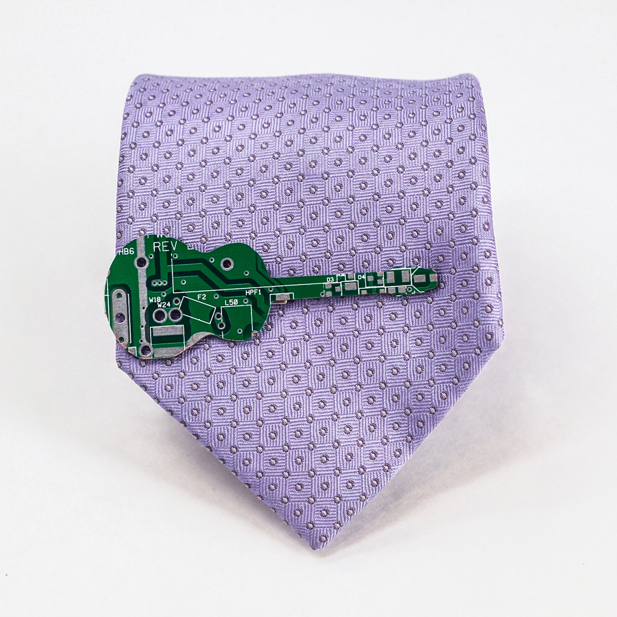Circuit Board Guitar Tie Clip - TechWears Ltd