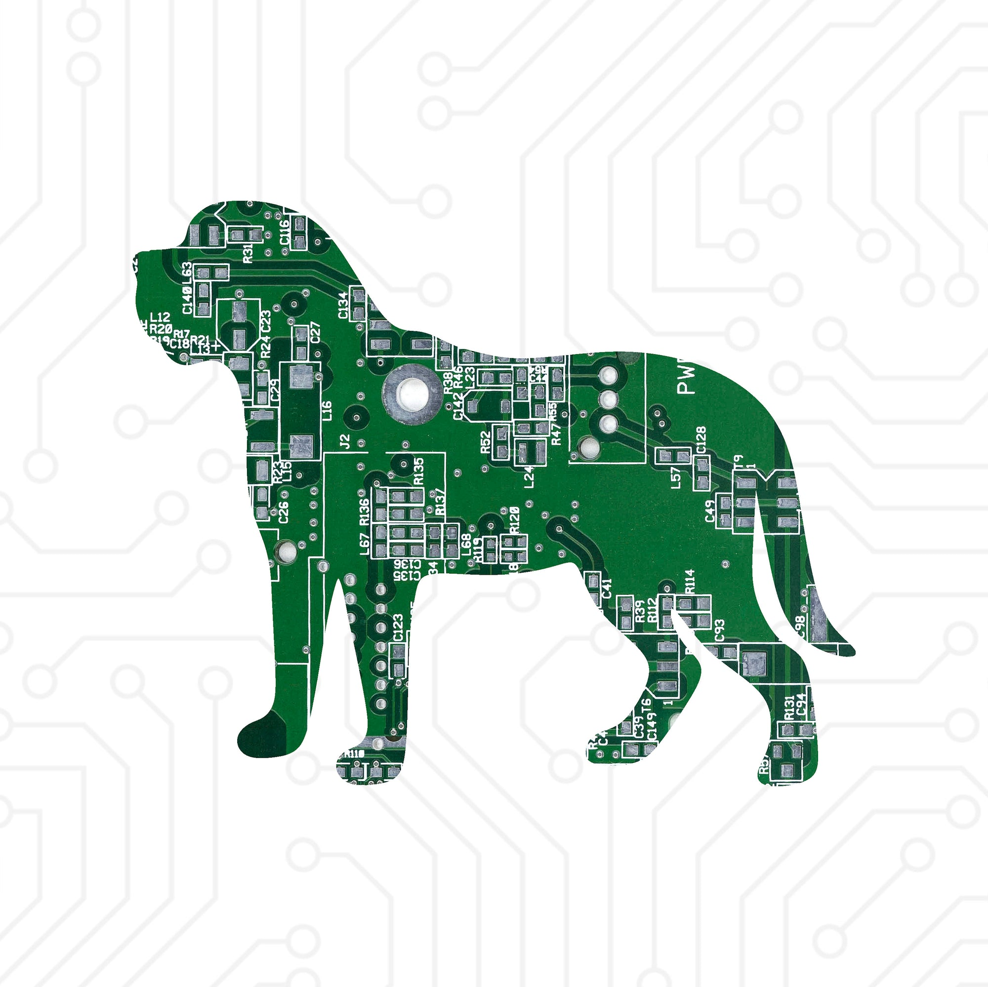 Circuit Board Mastiff - TechWears Ltd