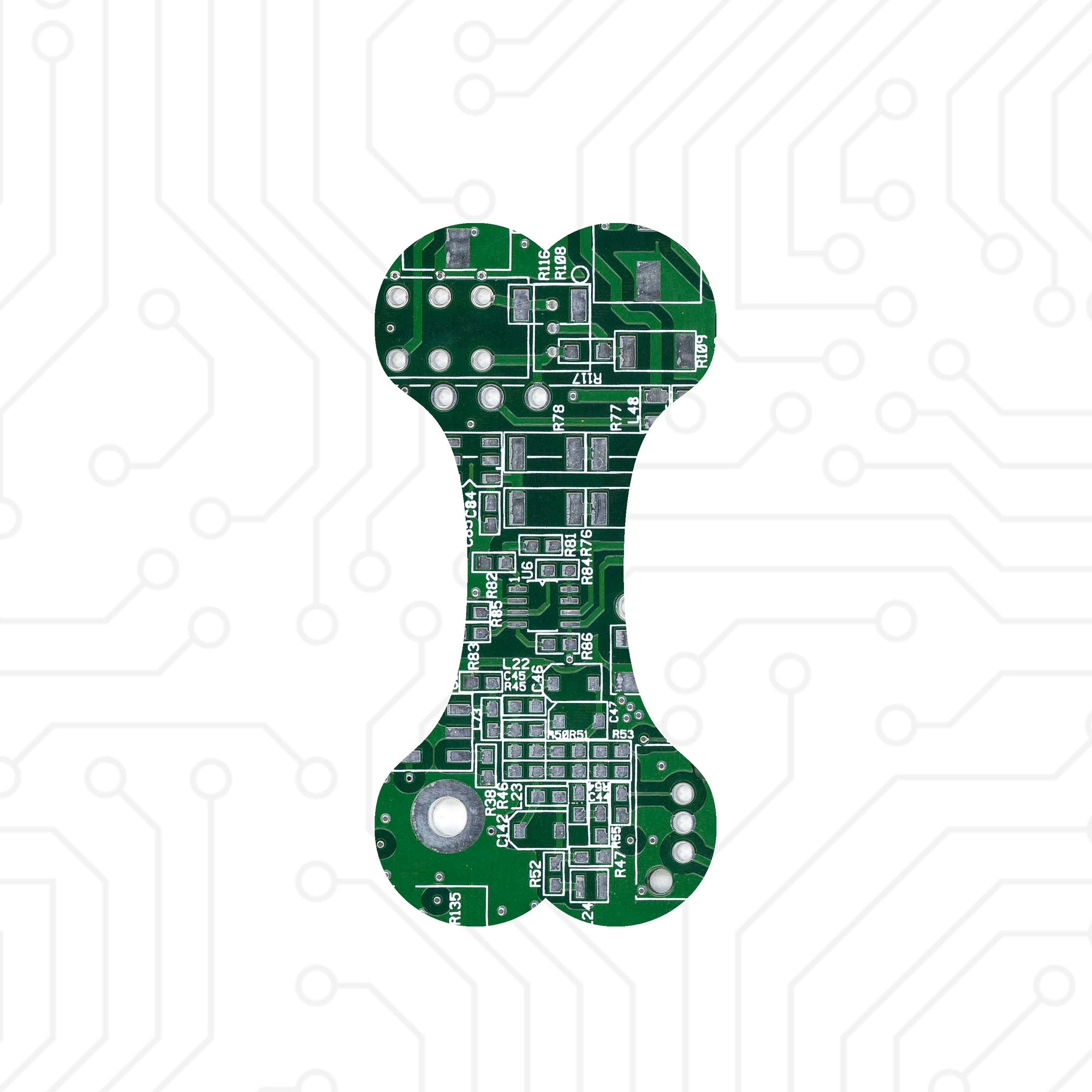 Circuit Board Dog Bone - TechWears Ltd