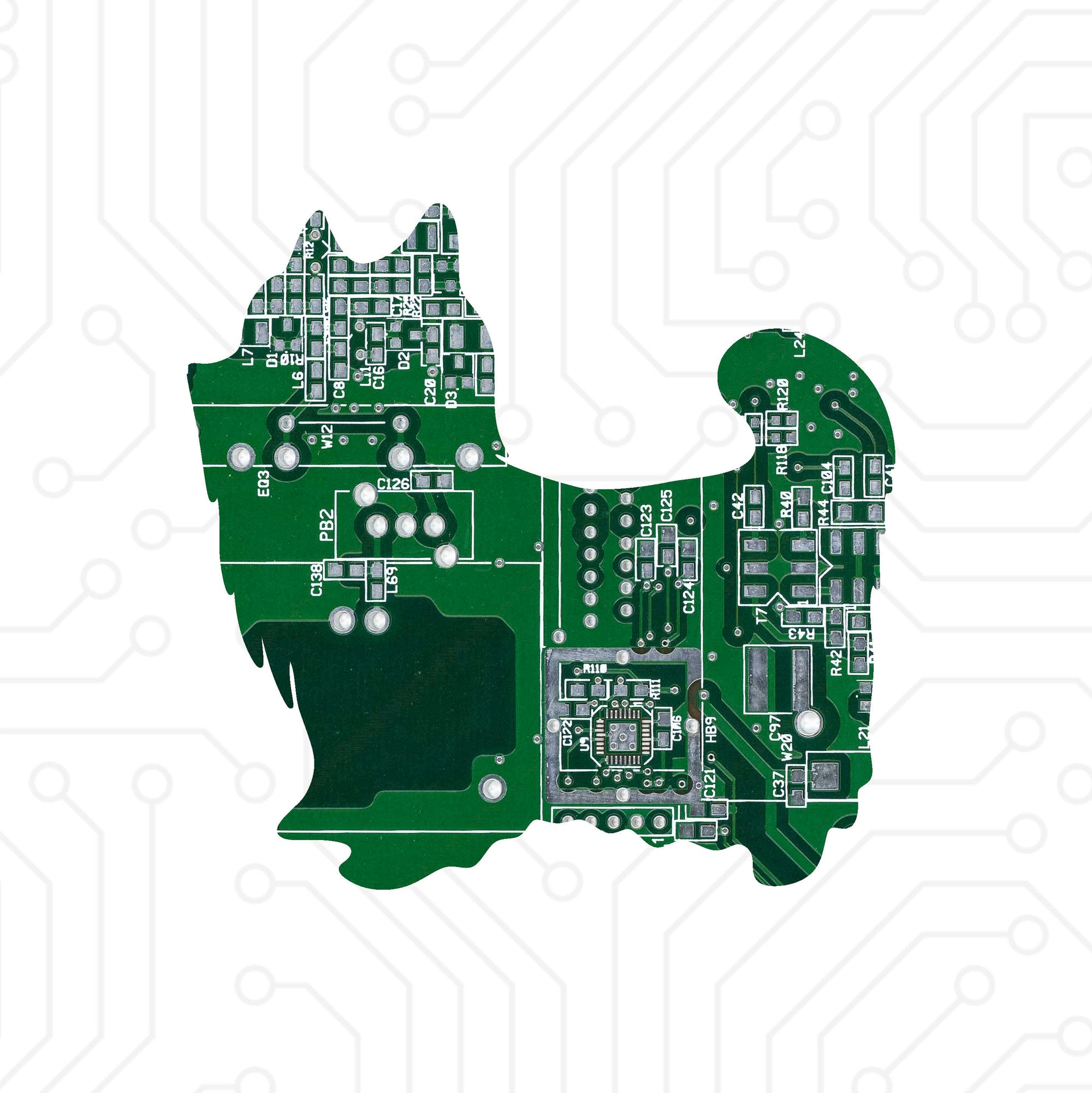 Circuit Board Yorkie - TechWears Ltd