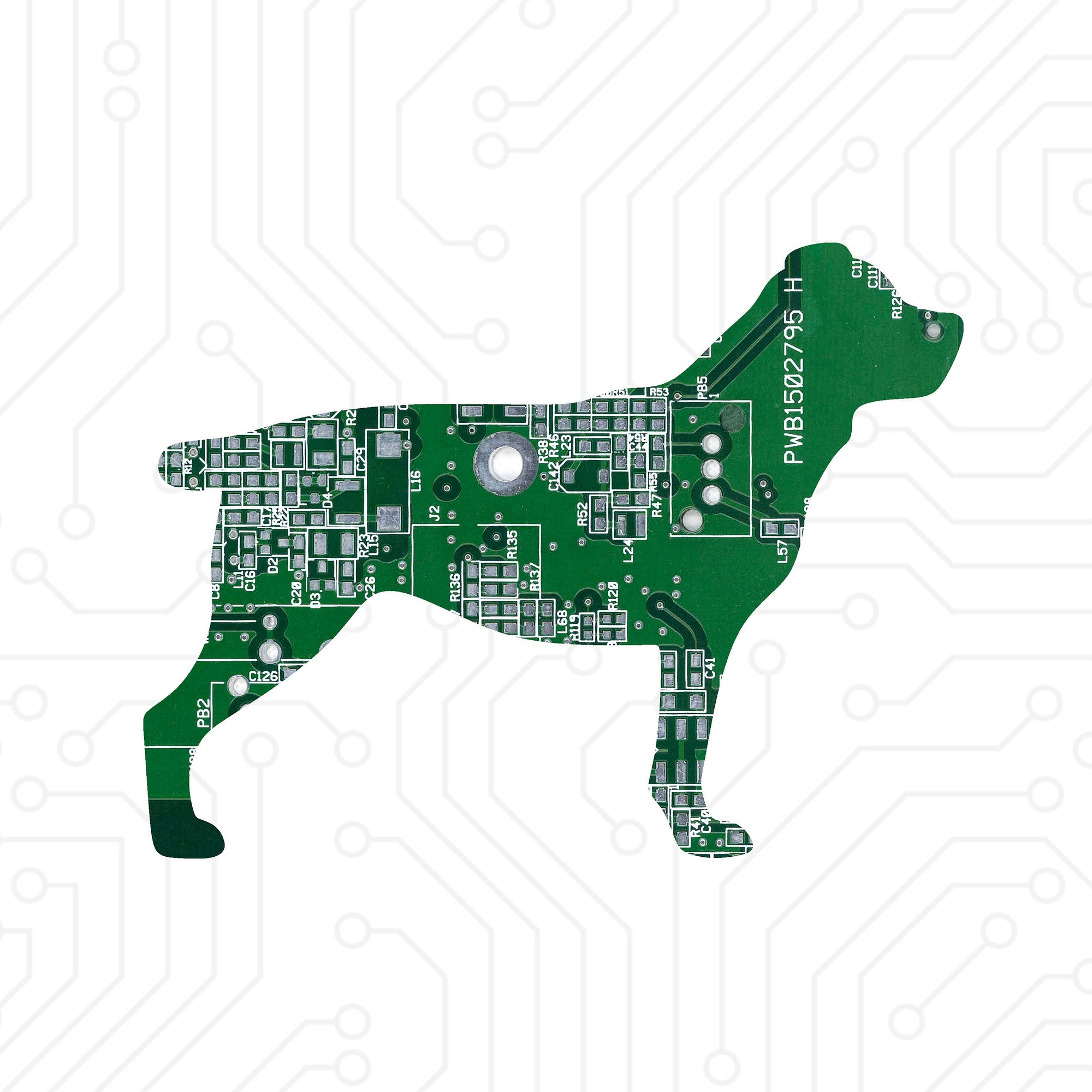 Circuit Board Rottweiler - TechWears Ltd