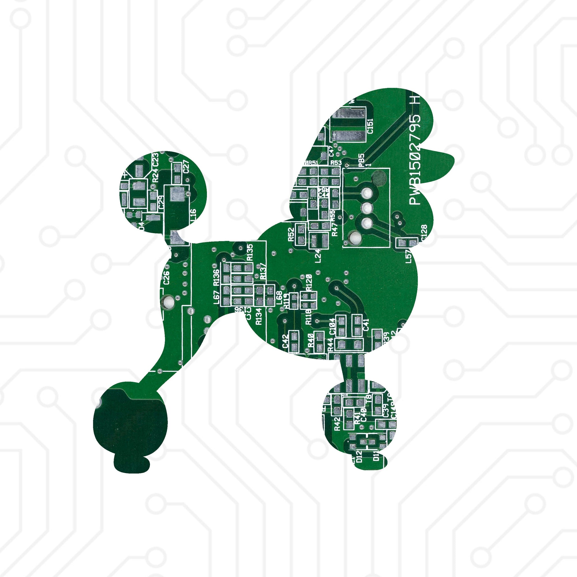 Circuit Board Poodle - TechWears Ltd