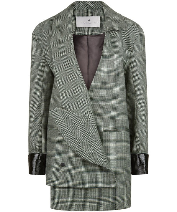 Melbury Plaid Tweed Jacket