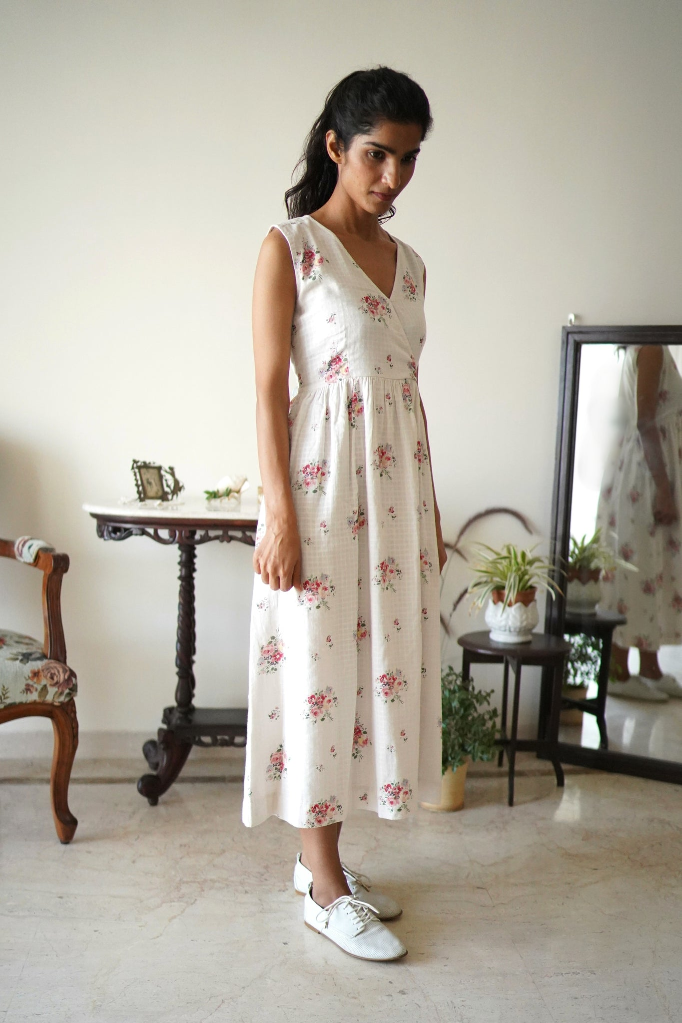 Eden Dress in vintage Floral
