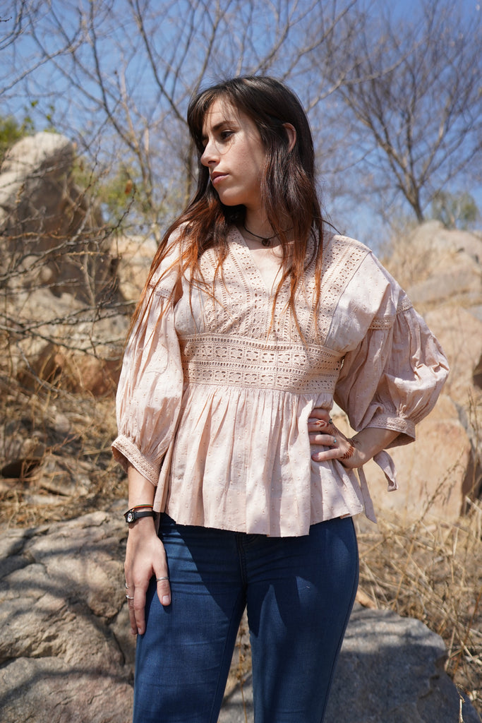 Ruth in Blush