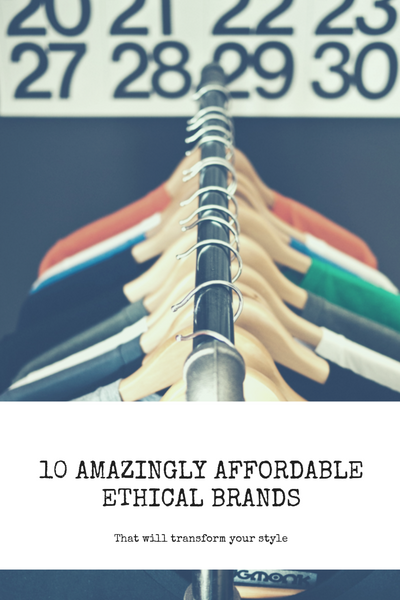 10 Amazingly Affordable Ethical Brands