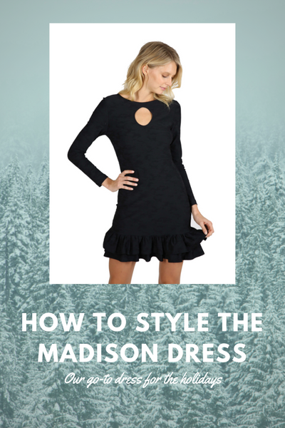 How to Style a Long Sleeve Dress