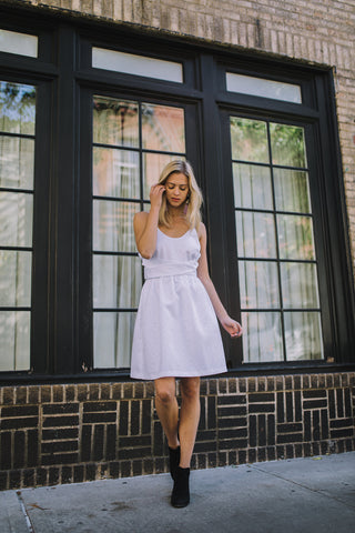 White Skater Dress | Wedding Dress 2019 | Discourse NYC